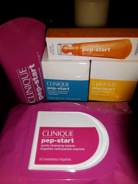 Clinique's Pep-Start Range; my new must-haves